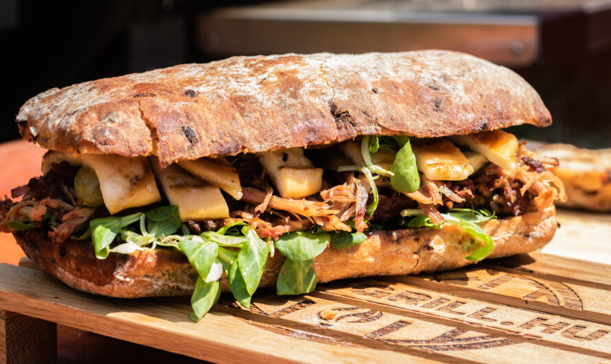 Türelem pulled pork szendvicset terem