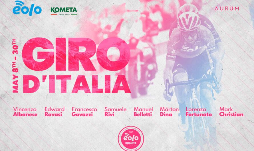 Duplán izgalmas napok jönnek az EOLO-KOMETA kerékpáros csapatnál
